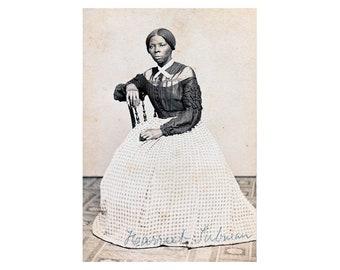 Harriet Tubman - 1868 - Vintage Historical Photo