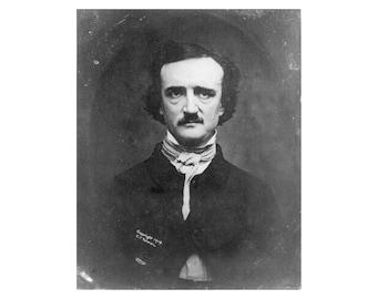 Edgar Allan Poe - 1904 - Vintage Historical Photo