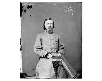George E. Pickett - 1860 - Vintage Historical Photo