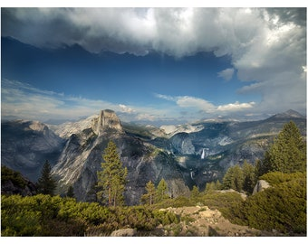 Yosemite National Park - 2013 - Vintage Historical Print
