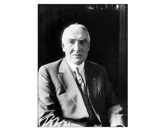 Warren Harding - 1915 - Vintage Historical Photo