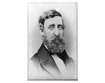 Henry David Thoreau - 1879 - Vintage Historical Photo