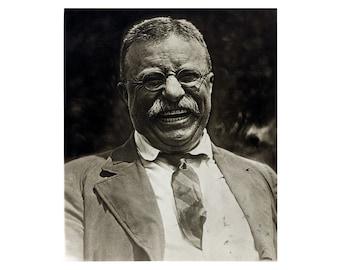 Theodore Roosevelt - 1910 - Vintage Historical Print