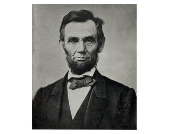 Abraham Lincoln - 1863 - Vintage Historical Photo