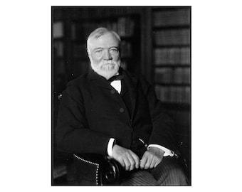 Andrew Carnegie - 1905 - Vintage Historical Print