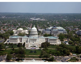 Aerial view of Capitol Hill - 2007 - Vintage Historical Photo