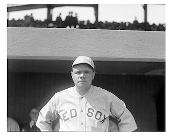 Babe Ruth - 1919 - Vintage Historical Photo