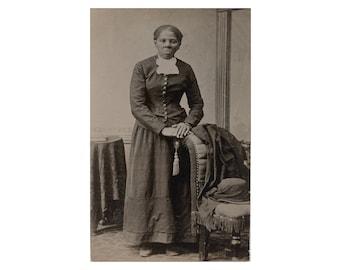 Harriet Tubman - 1895 - Vintage Historical Photo