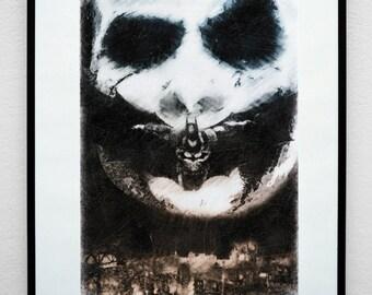 Gotham. Comic Book Inspired Luxury Art Print.