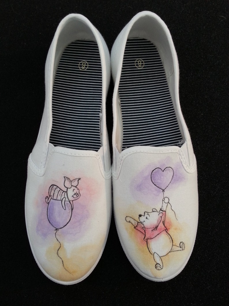 7e772d28bc42 Winnie the Pooh and Piglet themed shoes