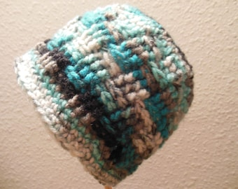 Baby Crochet Hat for that Special Little Someone, Size 3 mths.