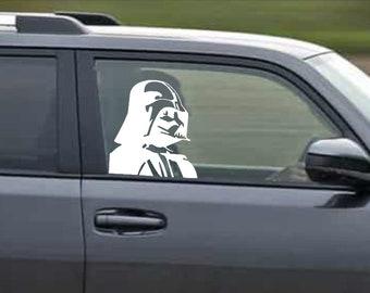 Dark Vader passanger decal