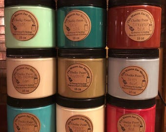 Chalky Paint 16oz Pint- Alternative to Annie Sloan