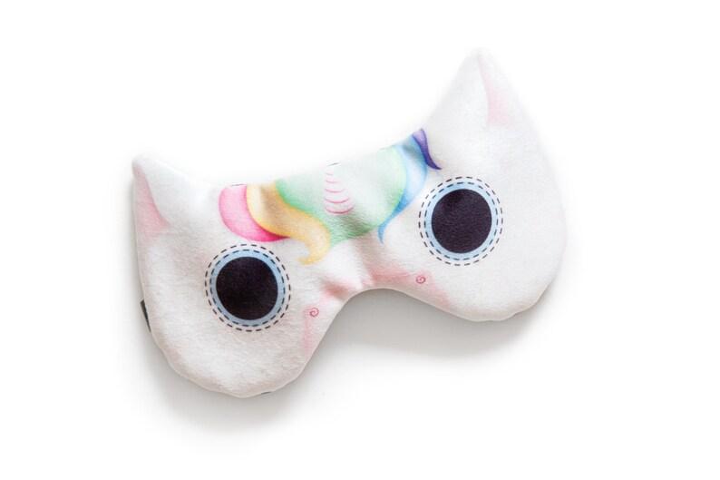 Unicorn sleep mask  ADJUSTABLE Great for traveling shift image 0