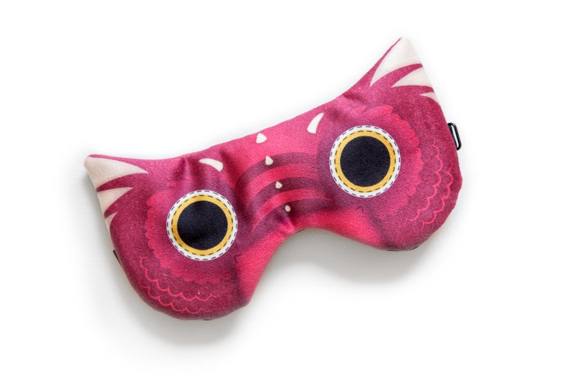 Dragon sleep mask  ADJUSTABLE Great for traveling shift image 0