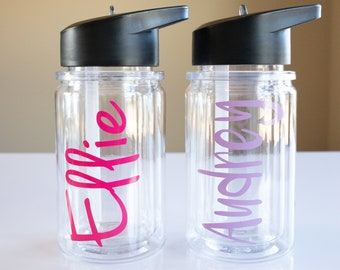 Toddler Water Bottle Etsy