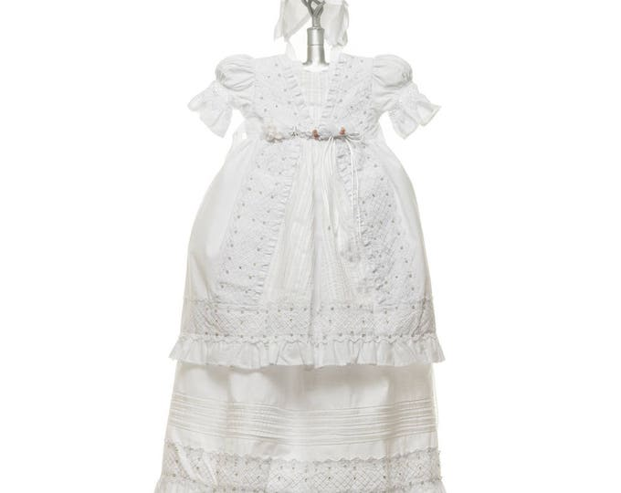 Girls Baptism Gowns - Details and Traditions