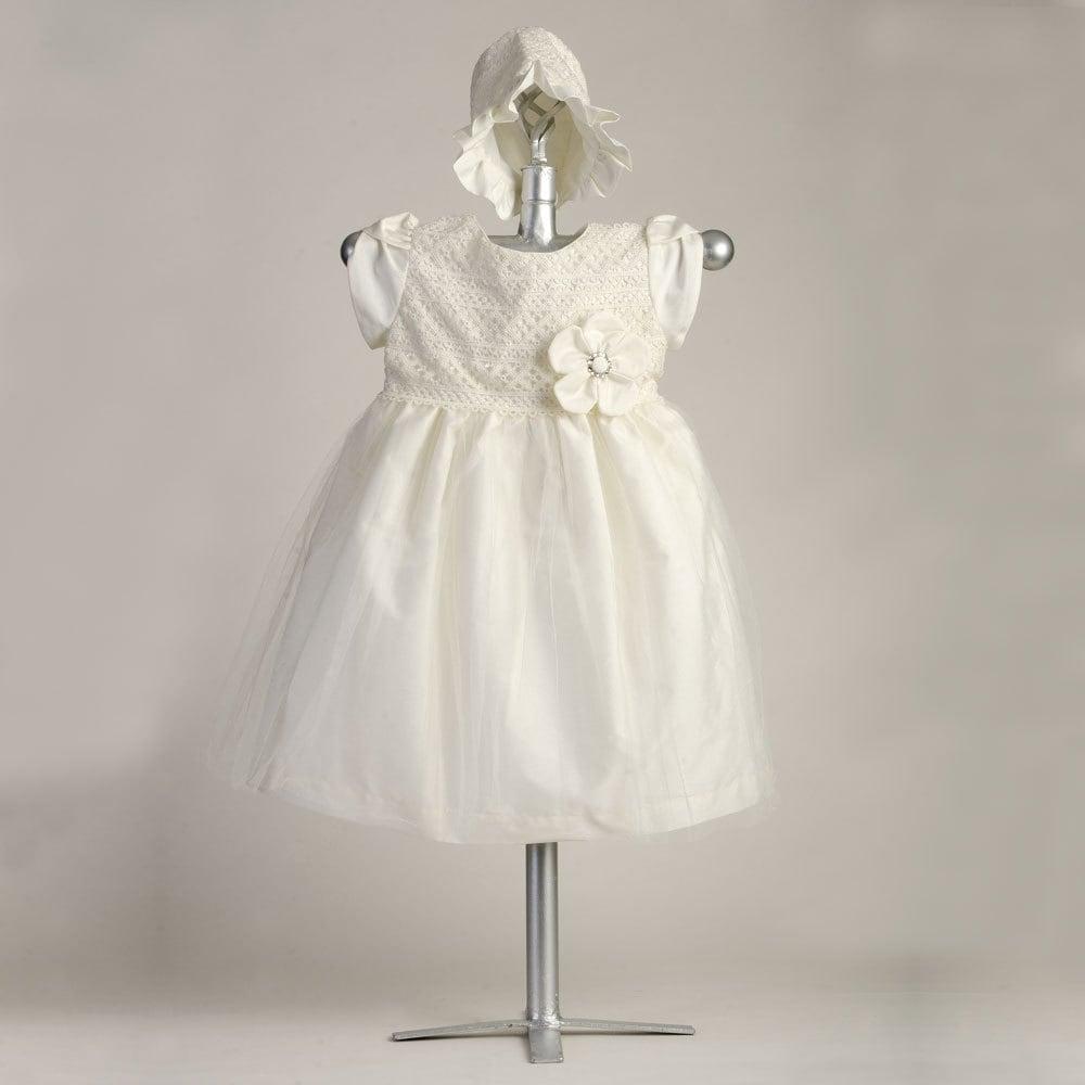 Venice Trellis Dress, BE6397, Cotton Baptism Gown, Christening Gown ...