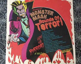 Monster Mash, Sounds Of Terror Horror Vinyl Record (1974)