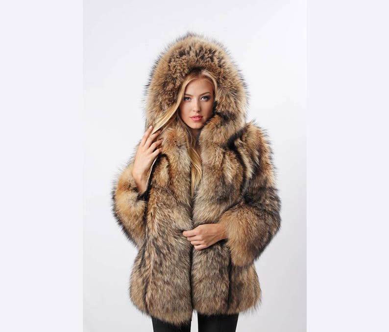 Clothing, Shoes & Accessories Real Fur Coat Coats, Jackets & Vests
