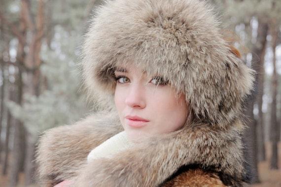 Real raccon fur headband Winter headband Fur headbands for  a13af7a125b