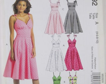 McCall's M5292 by Easy stitch 'n save size 4-10 free shipping