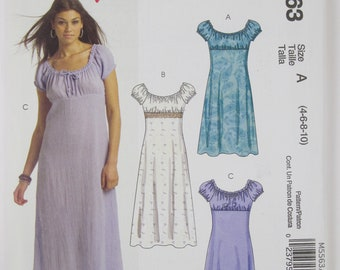 McCall's M5563 of the Easy Stitch 'n Save series free shipping size 4-10