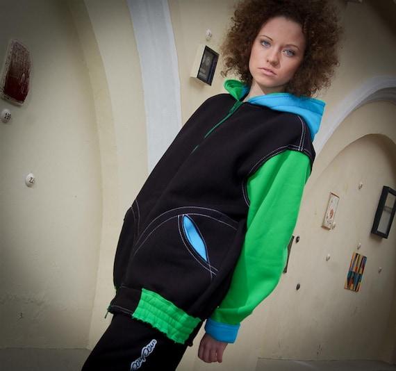 oversize hoodie Hoodie Green Long or woman for big multicolor hoodie hoodie man baggy loose hood Black Blue Cotton Colored hoodie Zip AWtqtXw8F0