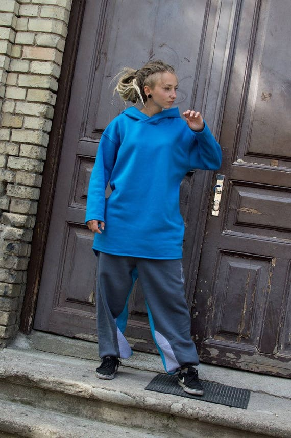 woman for sweatpants sweatpants warm baggy pants pants gray cotton gray man pants for for blue gray spring trousers Colored O5TwqIT