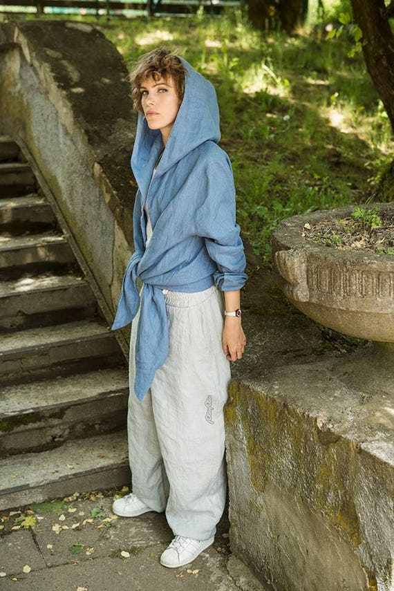 Linen Pants Gray Pants Yoga Unisex woman Gray Pants Drop trousers pants man clothing gray Festival for Light Gray Harem crotch linen Bq4Spp