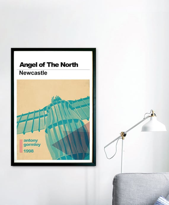 NEWCASTLE FREE UK P/&P LARGE A3 OR STANDARD A4 POSTER