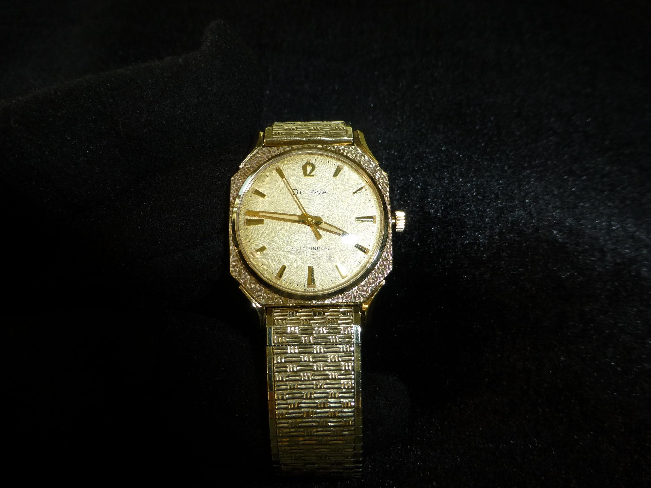 0f7425757 Rare Vintage Swiss Bulova Automatic 17 Jewels Men's | Etsy