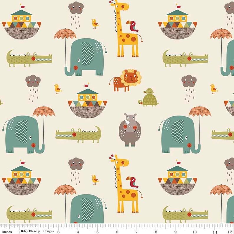 by Riley Blake 10-6150-42 Giraffe Crossing 2 Layer Cake 42 ~ 10 Squares