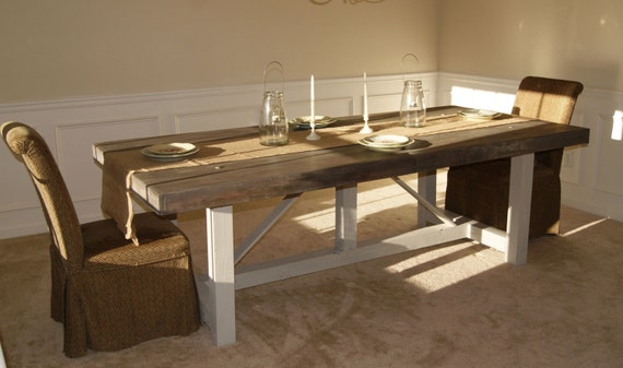 Etonnant Custom Farmhouse Table Or Desk | Etsy