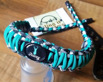 Custom Wrist Sling With Barbwire Stich