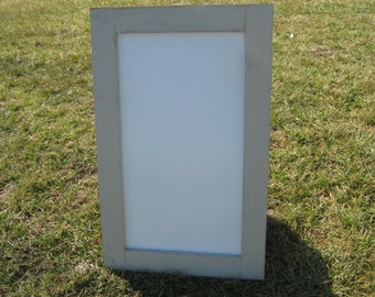 Large rustic off white dry erase board distressed hanging almond white whiteboard home message center white board