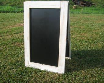 XL double sided A frame easel chalkboard, you pick the color  Extra large sidewalk chalkboard sandwich chalk board black board business sign