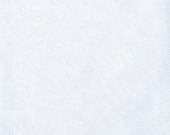 3 yds of White Tulle 108 wide for Beils, crafts, favor swags decorations