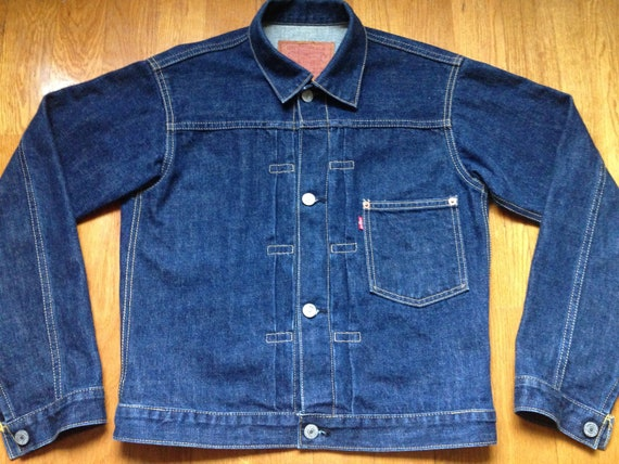 Levis 506XX Denim Jacket Size 36