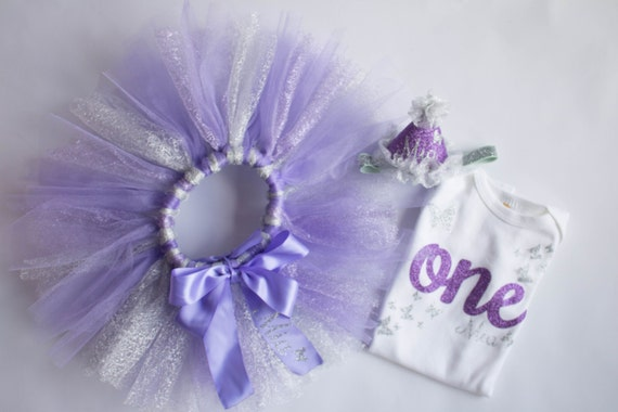 Cool 1St Birthday Outfit Butterfly Outfit Silver And Purple First Personalised Birthday Cards Epsylily Jamesorg