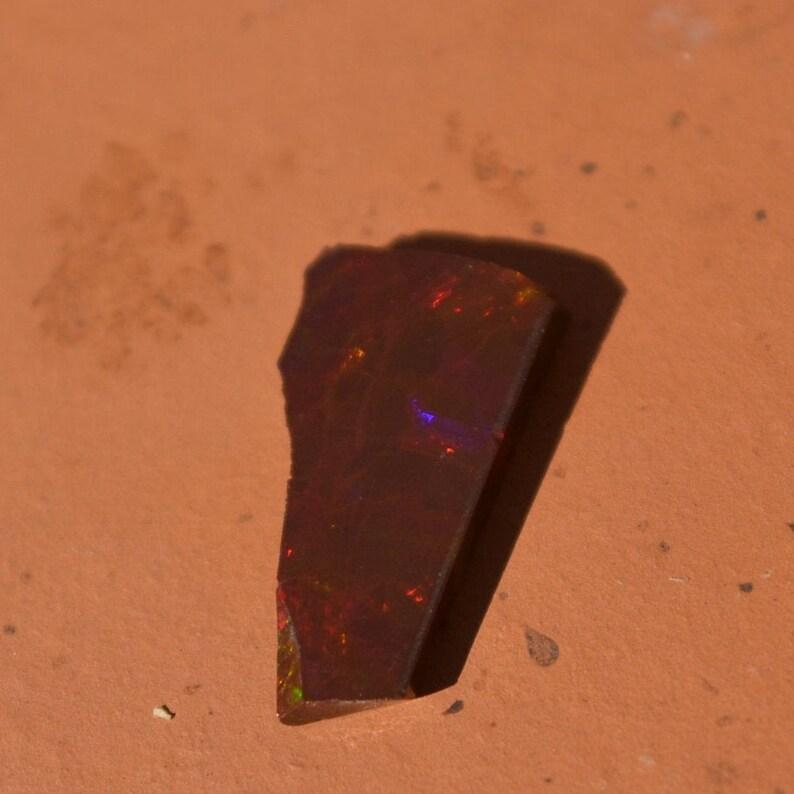 Ethiopian opal rub