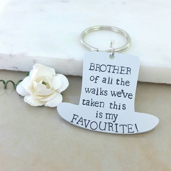 Brother Wedding Gift: Brother Wedding Thank You Gift Favourite Walk Down The