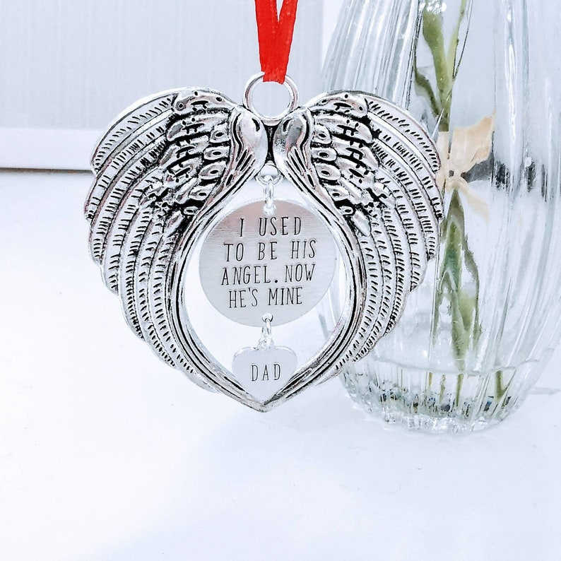 ANGEL WINGS ANGEL COLOUR ANGEL CHARM MEMORIAL KEEPSAKE HANGING DECORATION