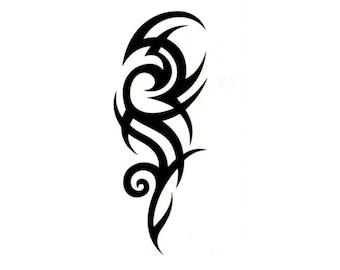 30448d925 Celtic Tribal Temporary Fake Tattoo Bold Body Art Transfer Waterpoof Fancy  Dress