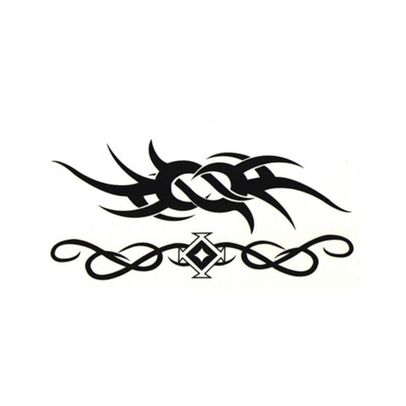 Celtic Tribal Thorn Flash Temporary Fake Tattoo Bold Body Art Transfer  Waterpoof Fancy Dress
