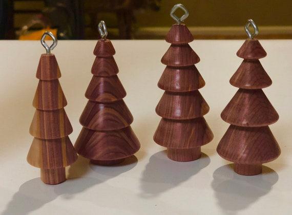 Christmas Tree Ornaments.Wooden Christmas Tree Ornaments