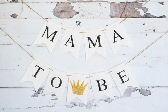 Mama To Be Where The Wild Things Are Baby Shower Decoration Etsy
