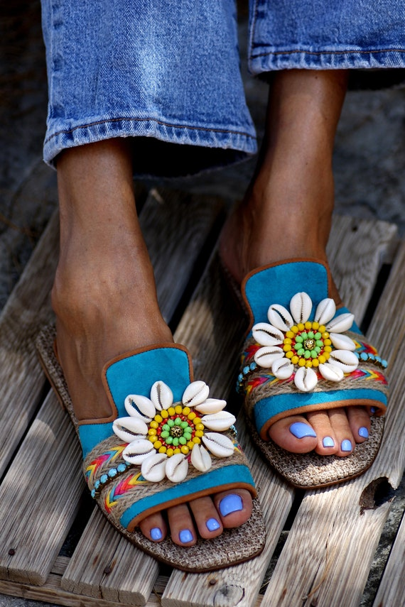 Sandals Chantilly handmade to order