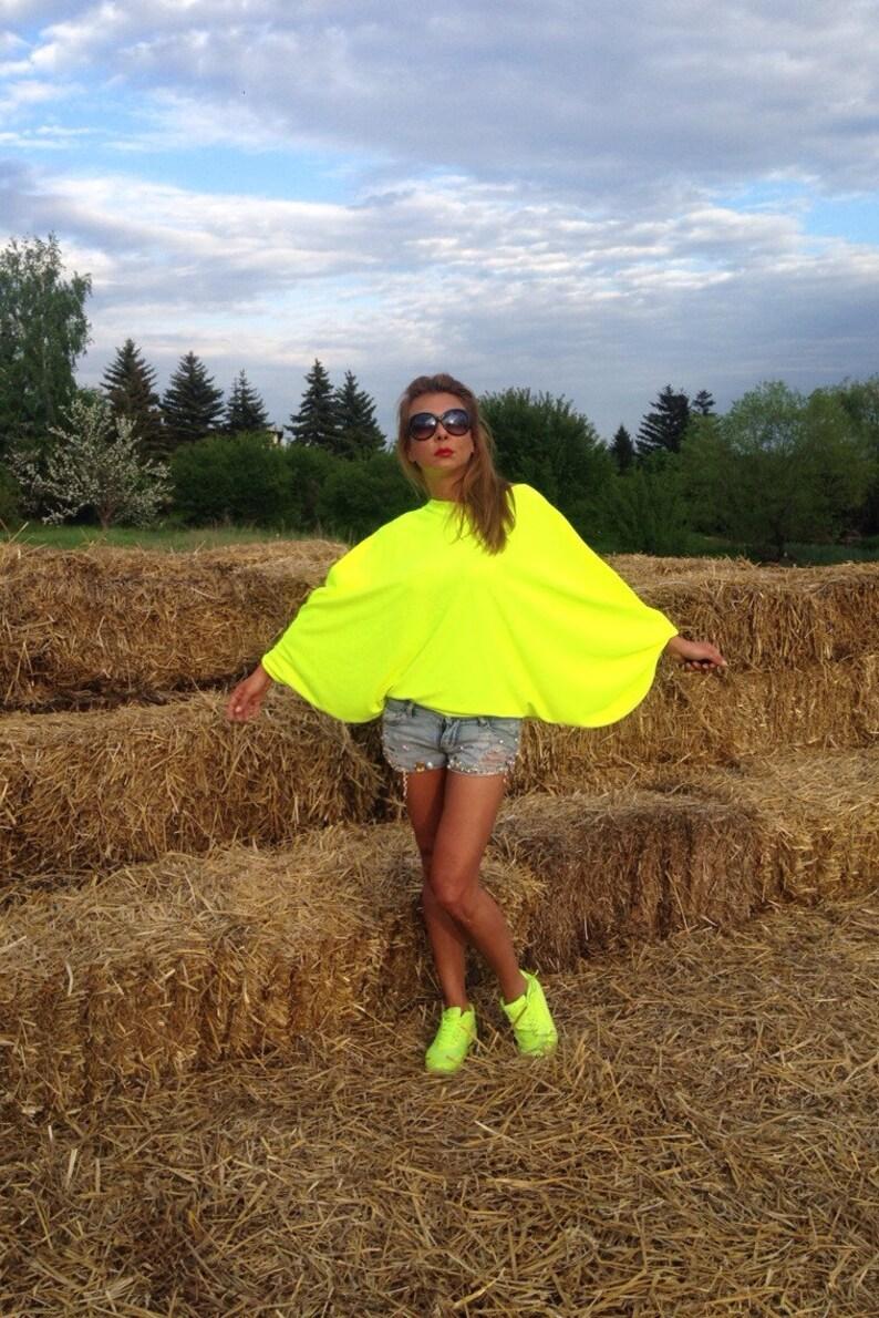 Neon tunicgreen blouseevery day tuniccaftan