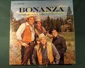 Bonanza Ponderosa Party Time RCA Victor 1962 Vintage Old Collectible 33 1 2 RPM Vinyl Record Sleeve Free Shipping